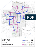 City of Syracuse Proposed Sidewalk Snow Pilot Map
