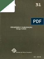 Cottet - Perversão e sublimação.pdf