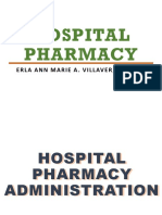 Hospital Pharmacy Presentation