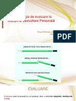 Atelier Evaluare DP