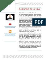 EL SENTIDO DE LA VIDA + P Ángel Espinoza