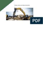 Excavadoras Para Demoler