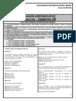 1.Caderno03 - 2014.2 - 3§ Semestre