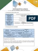 psicologia comunitaria Fase 3 - Trabajo colaborativo 2-Profundización
