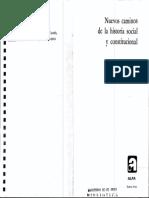 Nuevos caminos de la historia social (Otto Brunner)