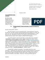 Charles Harder Letter