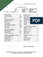 Hoja de Inspeccion - Entrega 10-09-12