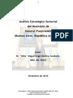 Análisis Estratégico Sectorial del Municipio de General Pueyrredón (Buenos Aires, Argentina).