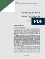 Defoliating the World