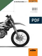 MANUAL KTM EXC