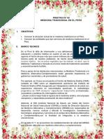 Medicina Tradicional en El Peru