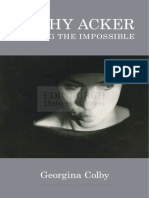 E-Book Kathy Acker Writing the Impossible