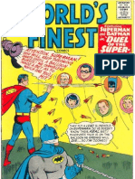 Worlds Finest Comic Book Covers