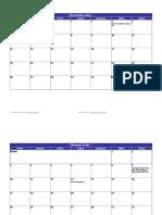 Taladas Calendar