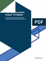 The Total Economic Impact of Equinix 2019