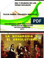 Diapositivas Monarquia y Absolutismo