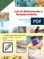 Aula Cálculo de Medicação