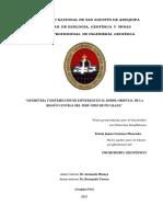 """""""GEOMETRÍA Y DISTRIBUCIÓN DE ESFUERZOS EN EL BORDE ORIENTAL DE LA REGIÓN CENTRAL DEL PERÚ-NIDO DE PUCALLPA"""""""