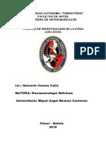La Etnomusicologia Miguel Angel Mamani