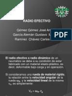 radio efectivo