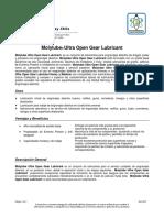 Molylube Ultra Open Gear Lubricant