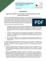 Negociaciones Entre GE y El FMI