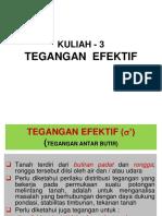 3. Review Tekanan Efektif