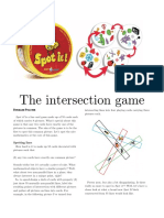 The intersection game