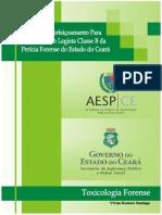 Apostila - Aperfeicoamento Para Medico Perito Legista Classe B 2019 - Toxicologia Forense