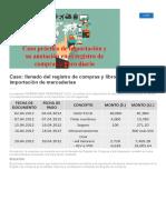 Caso_ Llenado Del Registro de Compras y Libro Diario en La Importación de Mercaderías _ Alternativas Contables