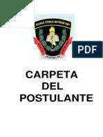 Prospecto Ets Pnp y Carpeta de Postulante 2015 i Convertido