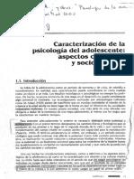 Caracterización de La Psicología Del Adolescente (1)