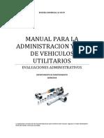 Manual de administracion de vehiculos