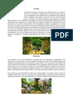 Ecología y Canciones de Guatemala