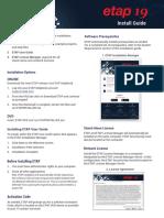 Installation Guide ETAP19.0.1