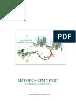 Metodos Cpm y Pert