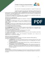 guía Discurso argumentativo 2°ciclo