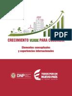 Crecimiento Verde para Colombia