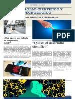 Periódico Digital desarrollo tecnológico y científico   (actualización y edición)