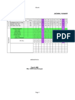Jadwal Petugas Kamar Operasi Agustus 2019