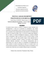 Informe Practica 8 Grupo 12 Gravimetria