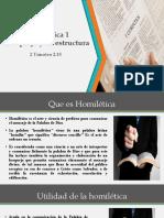 Homiletica 1