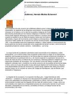 Documentos Para La Historia Del Movimiento Indigena Colombiano Contemporaneo
