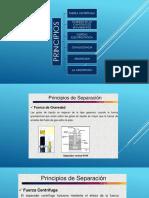 Separadores Principios Diseño y Secciones