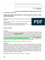 5. Diagnóstico de Comunicación Organizacional