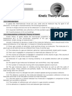 Kinetic theory of gases, Pradeep