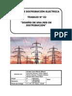 Trabajo 2 Redes de Distribución Electricas