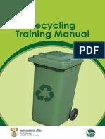 Recycling Trainingmanual