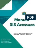 Manual SIS Acessuas Agosto 2019 Versão Final