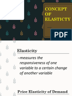 Elasticity economics